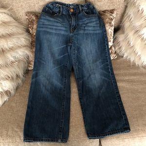 Gap loose husky size 8 boys jeans